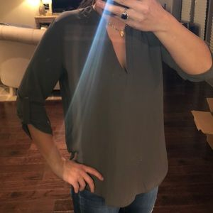 Lush Olive Blouse New with tags!